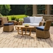 Lloyd Flanders Cayman Wicker Loveseat Patio Set