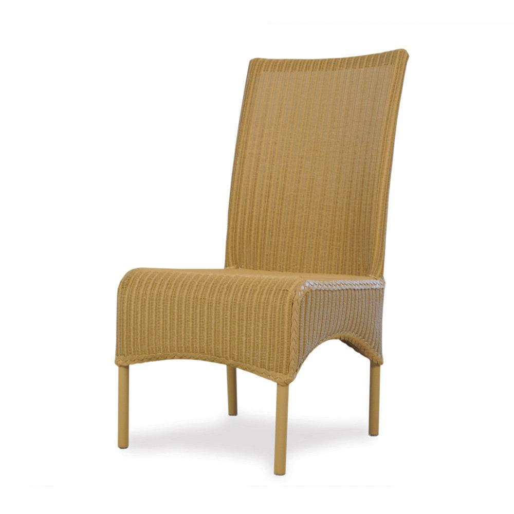 Lloyd Flanders High Back Wicker Dining Chair 286006
