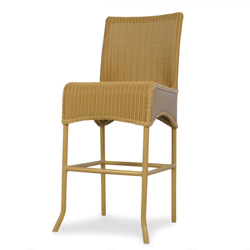 Lloyd Flanders Wicker Bar Stool