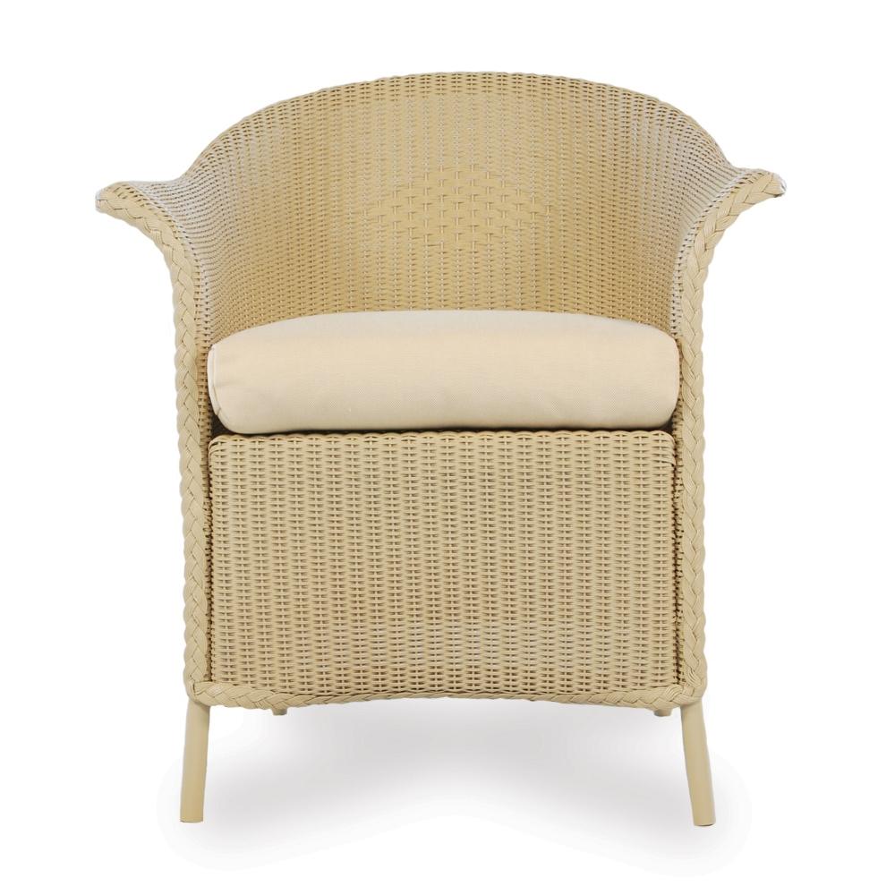 Lloyd Flanders Wicker Barrel Bar Chair 286007