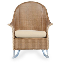 Lloyd Flanders Lloyd Flanders Rocking High Back Lounge Chair - 8036