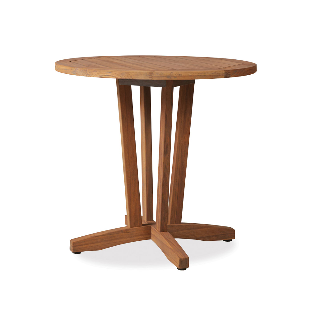 "Lloyd Flanders Teak 30"" Round Bistro Dining Table - 286136"