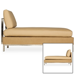 Lloyd Flanders Elements Armless Chaise - 203323-203023