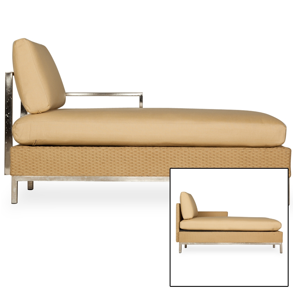 Lloyd Flanders Elements Left Arm Chaise - 203325-203025