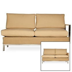 Lloyd Flanders Elements Left Arm Settee - 203348-203048