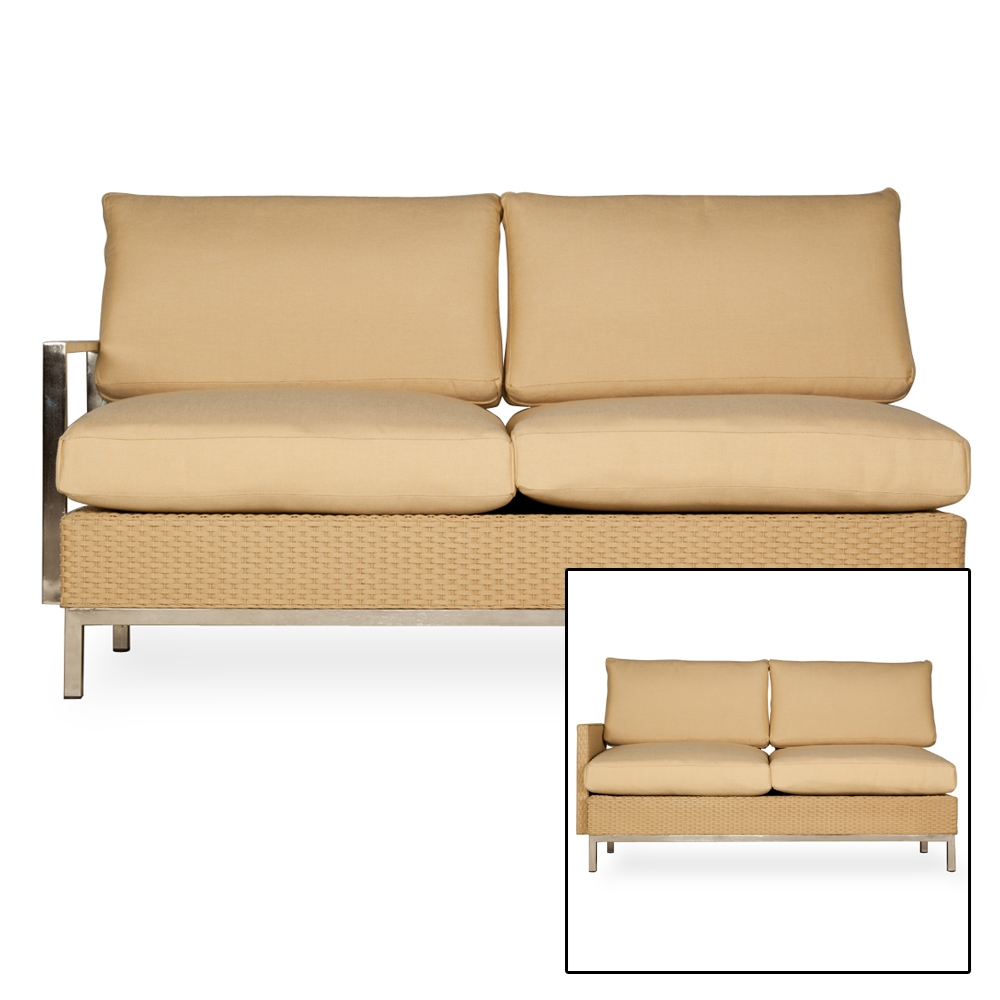 fabric recliner chair lloyd flanders elements u shaped wicker sectional set lf 15188 | 203349 203049