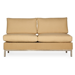 Lloyd Flanders Elements Armless Settee - 203351-203051