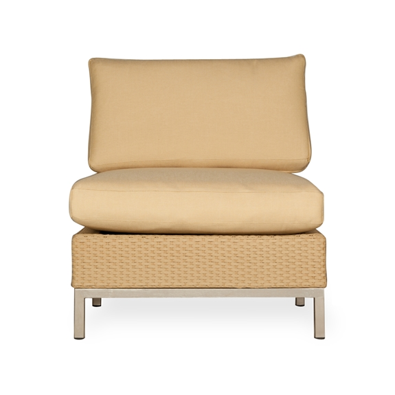 Groovy Lloyd Flanders Elements Armless Wicker Lounge Chair Caraccident5 Cool Chair Designs And Ideas Caraccident5Info