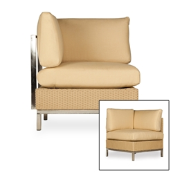 Lloyd Flanders Elements Corner Sectional Chair - 203354-203054