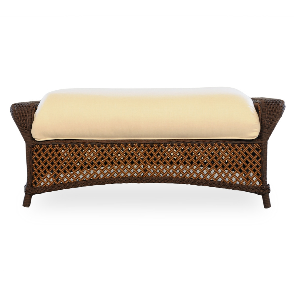 Lloyd Flanders Grand Traverse Large Ottoman - 71327