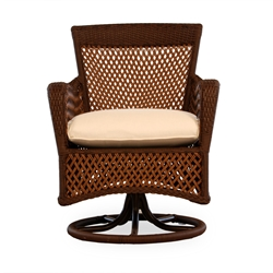 Lloyd Flanders Grand Traverse Swivel Dining Chair - 71381