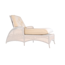 Lloyd Flanders Grand Traverse Adjustable Chaise Cushions - 71925-71625