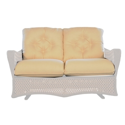 Lloyd Flanders Grand Traverse Love Seat Glider Cushions - 71950-71650