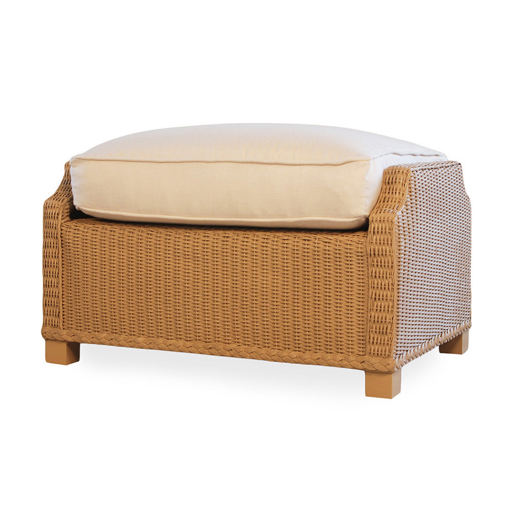 Lloyd Flanders Hamptons Sofa And Lounge Chair Wicker Patio