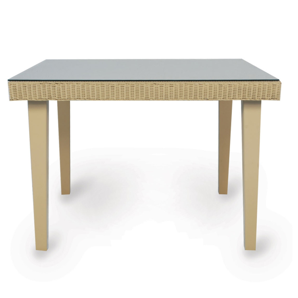 Lloyd Flanders Hamptons 42 inch Square Dining Table  - 15942