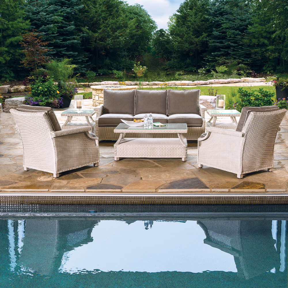 Lloyd Flanders Hamptons 6 Piece Sofa Set - LF-HAMPTONS-SET9