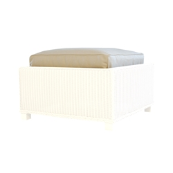 Lloyd Flanders Hamptons Ottoman Cushion - 15917