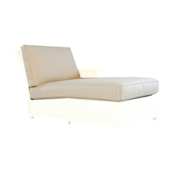 Lloyd Flanders Hamptons Left Arm Chaise Cushions - 15922-15722-15026