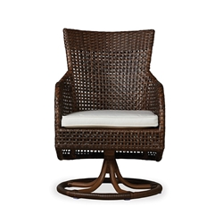 Lloyd Flanders Havana Swivel Dining Chair - 262071