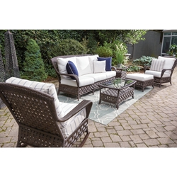 Lloyd Flanders Haven Patio Lounge Set - LF-HAVEN-SET7