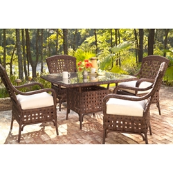 Lloyd Flanders Haven 5 Piece Patio Dining Set - LF-HAVEN-SET3