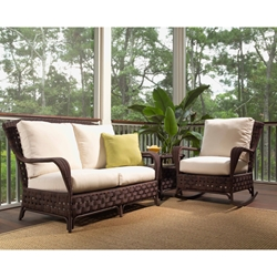 Lloyd Flanders Haven 3 Piece Loveseat Set - LF-HAVEN-SET4