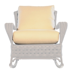 Lloyd Flanders Haven Lounge Rocker Cushions - 43902-43702-43033