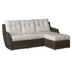 Lloyd Flanders Largo Small Sectional with Chaise - LF-LARGO-SET11