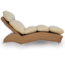 Lloyd Flanders Single Adjustable Wicker Chaise Lounge - 6025