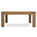 Lloyd Flanders 40 inch Square Distressed Teak Cocktail Table - 286044