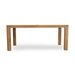 Lloyd Flanders 40 inch by 72 inch Distressed Teak Dining Table - 286072