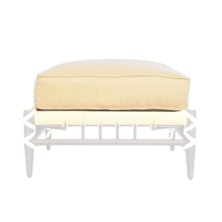 Lloyd Flanders Low Country Ottoman Cushion - 77817
