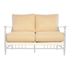 Lloyd Flanders Low Country Love Seat Cushions - 77850-77650