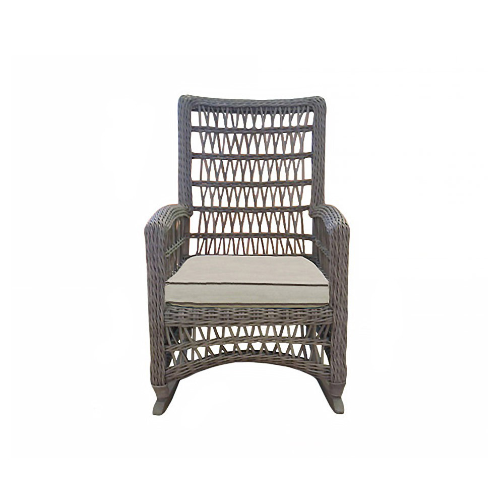 Lloyd Flanders Mackinac High Back Porch Rocker - 273036