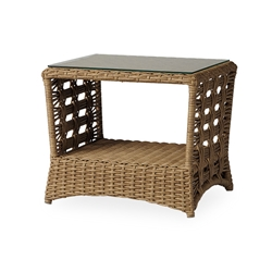 Lloyd Flanders Magnolia Rectangular End Table - 331043
