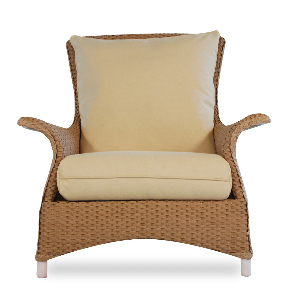 Swell Lloyd Flanders Mandalay Wicker Lounge Chair Inzonedesignstudio Interior Chair Design Inzonedesignstudiocom