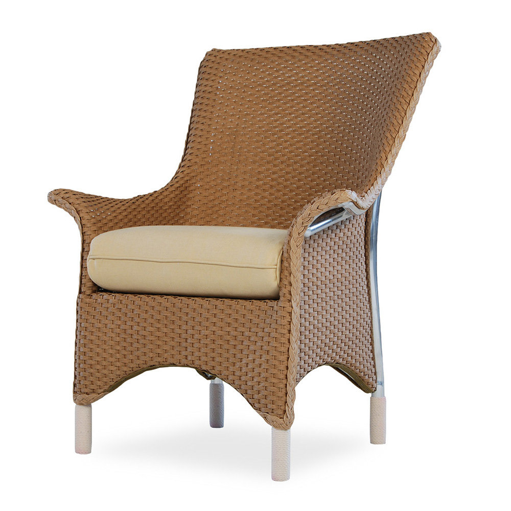 Lloyd Flanders Mandalay Dining Arm Chair - 27007