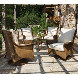 Lloyd Flanders Mandalay 5 Piece Chat Set - LF-MANDALAY-SET4