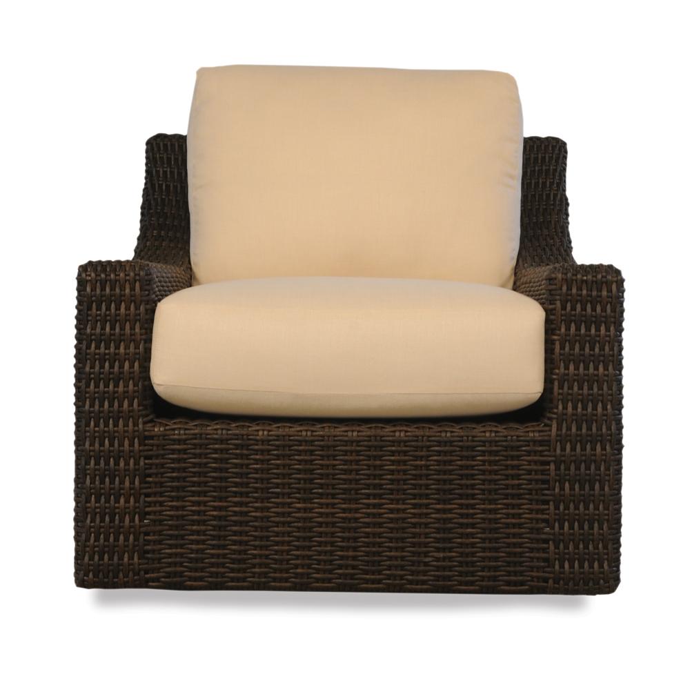 Outdoor Patio Furniture Mesa Az: Lloyd Flanders Mesa Woven Vinyl Swivel Lounge Glider Patio