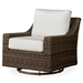 Mesa Woven Vinyl Swivel Glider Lounge Chair - 298091