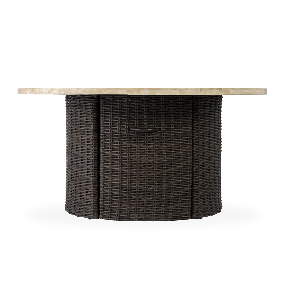 Lloyd Flanders Mesa Round Fire Pit Table - 298099