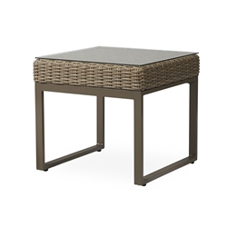 "Lloyd Flanders Milan 24.5"" Square End Table - 475043"