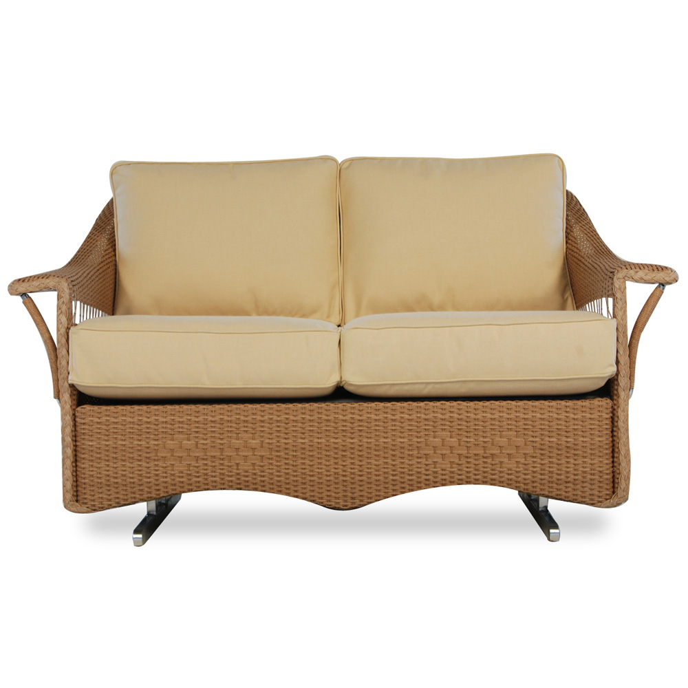 Lloyd Flanders Nantucket Loveseat Glider - 51047