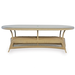 Lloyd Flanders Nantucket Oval Dining Table - 79084