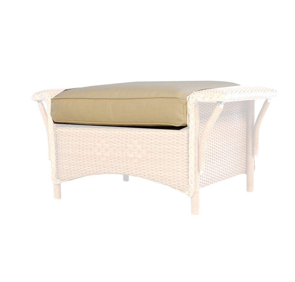 Lloyd Flanders Nantucket Ottoman Cushion 51917