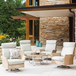 Lloyd Flanders Nova Patio Conversation Set - LF-NOVA-SET1