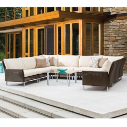 Lloyd Flanders Nova U-Shaped Sectional Set - LF-NOVA-SET4