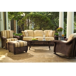 Lloyd Flanders Oxford Patio Sofa Set