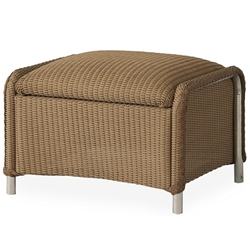 Lloyd Flanders Reflections Ottoman with Padded Foot Rest - 109017