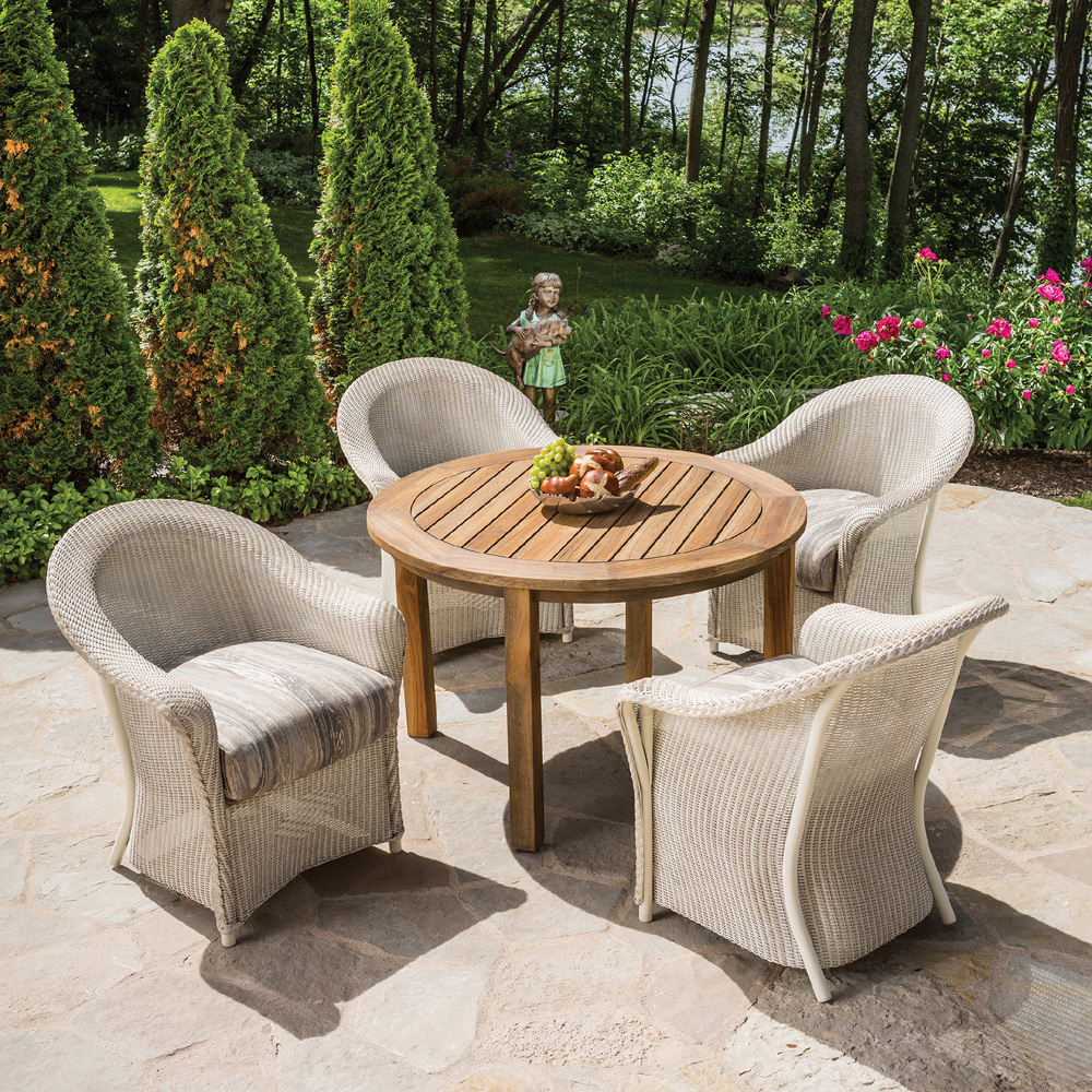 Lloyd Flanders Reflections 5 Piece Patio Dining Set - LF-REFLECTIONS-SET8